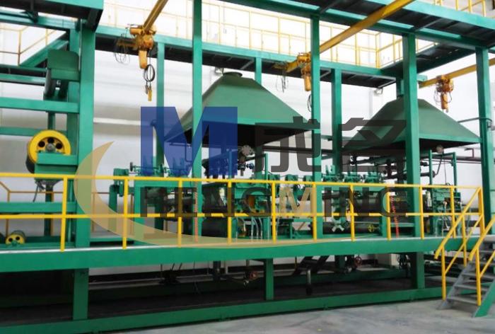 1米宽幅 无胎juan材生产线