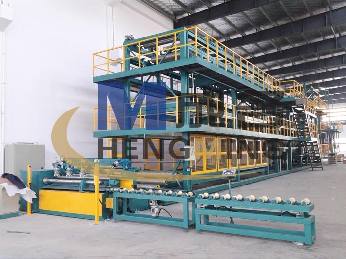 2米宽幅 无胎juan材生产线