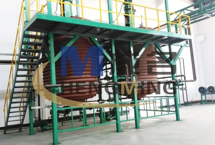 2米kuanfu 无胎卷材生产线